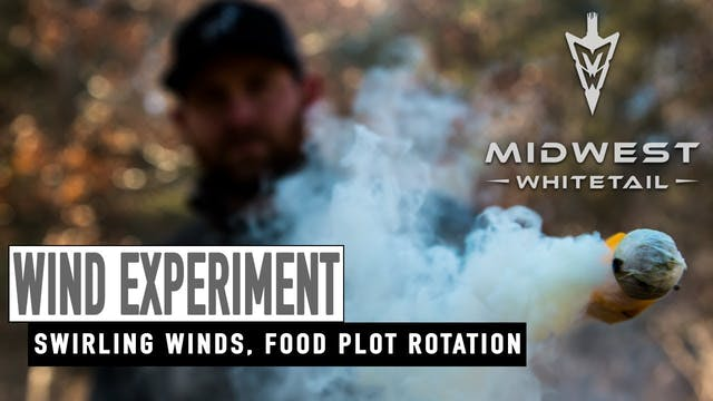 4-16-18: Testing Winds, Food Plot Rot...
