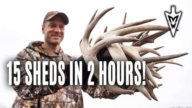 3-18-19: 3 Best Spots to Hunt, Shed H...