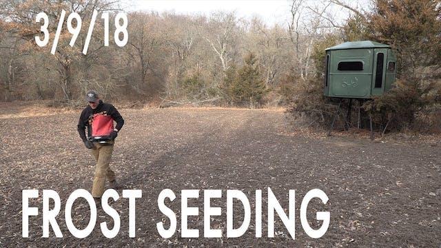 Winke's Blog: Frost Seeding