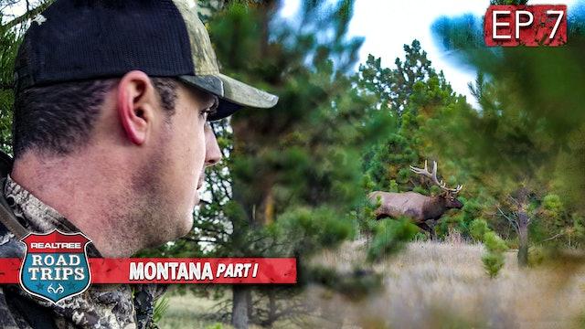 Monster Bull Bugling Madness | Montana Elk Hunting | Realtree Road Trips