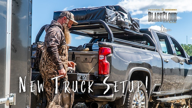 Dr. Duck's New Ride | Chevy Truck Camping Setup | Black Cloud