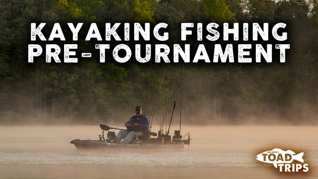 Kayak Fishing Pre-Tournament in Stafford, Virginia | Toad Trips