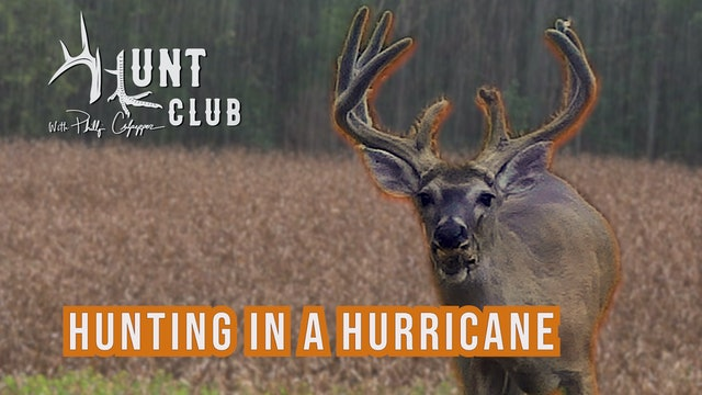 Buck Hunting in a Hurricane | Opening Day of Tennessee Deer Season | Hunt Club