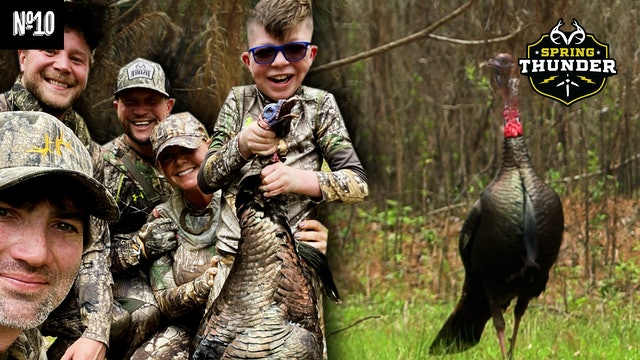 2021 Turkey Hunt of the Year | Big 12 O'Clock Gobbler | Spring Thunder