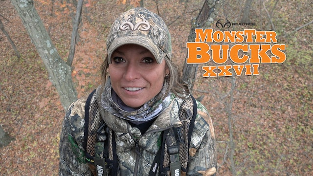 Krysten McDaniel Takes a Kansas Monster Buck