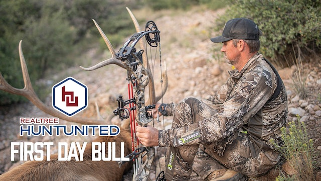 A First Day Bull   Elk Hunting Success in New Mexico   Hunt United
