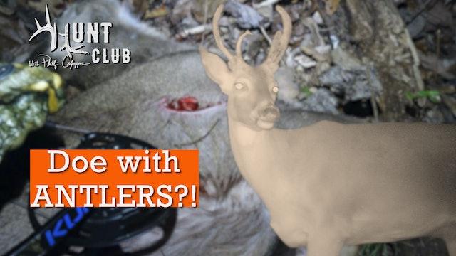 Is This an Antlered Doe? | Late-Season Deer Hunting | Hunt Club