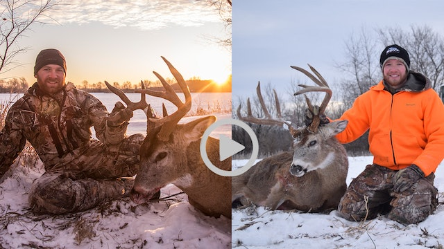 1-8-18: Frigid Weather Bucks | Midwest Whitetail