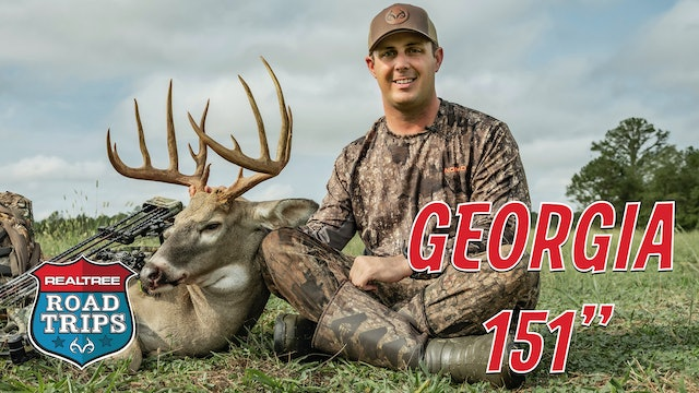 Tyler's Biggest Georgia Bow Buck | Early Season Bowhunting | Realtree Road Trips
