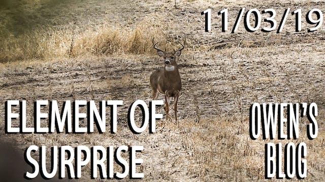 Owen's Blog: Element of Surprise