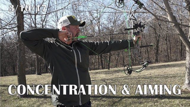 Winke's Blog: Concentration and Aiming