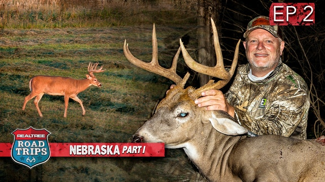 Getting Whooped In Nebraska | Buck Down In Camp | Realtree Road Trips