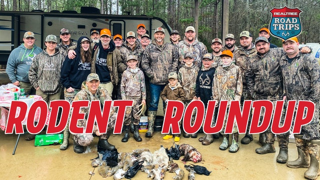 Realtree Rodent Roundup   Bone Collector and Hunt Club   Realtree Road Trips