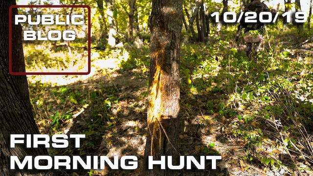 Public Land Blog | First Morning Hunt