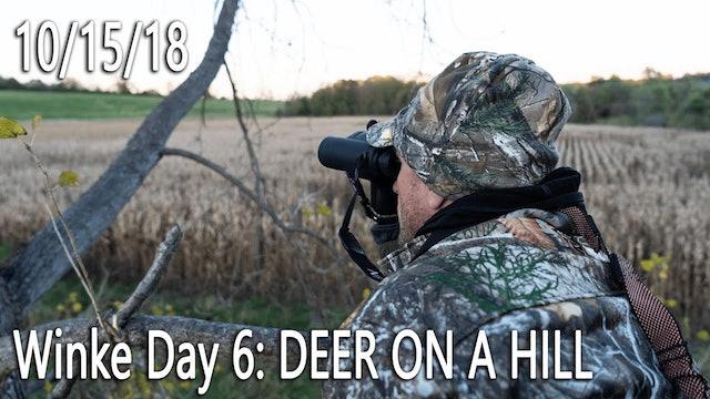 Winke Day 6: Deer On A Hill