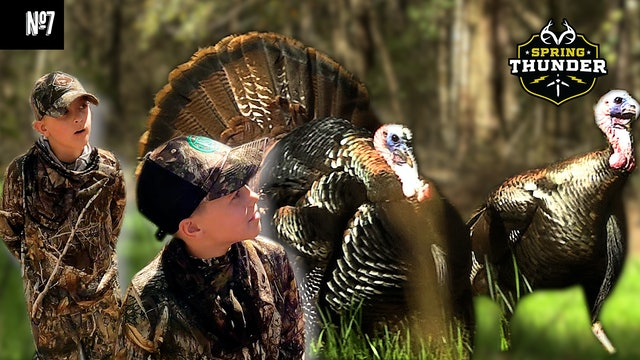 Youth Hunters vs. Mouthy Gobblers Round 2 | Can't Get Them All | Spring Thunder