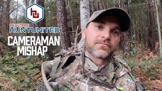 Things Going Wrong in the Turkey Woods | Cameraman Mishap | Hunt United