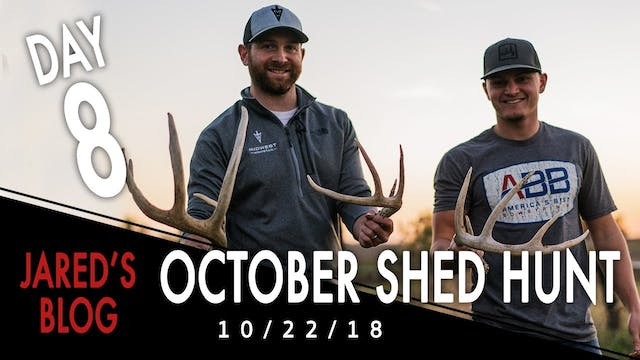 Jared's Blog: Shed Hunting in October...
