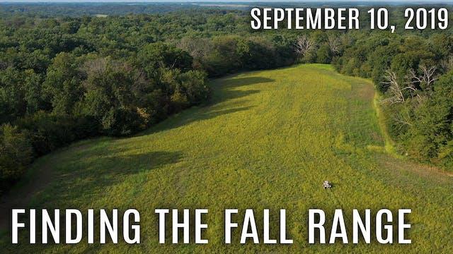 Winke's Blog: Finding The Fall Range