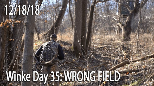 Winke Day 35: Wrong Field