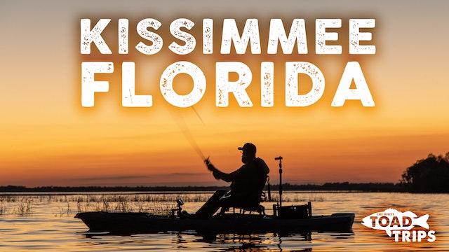 Kayak Fishing in Kissimmee, Florida | Toad Trips