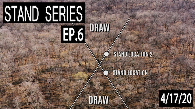 Ridge-Top Bedding Areas | Bill Winke Treestand Location Series