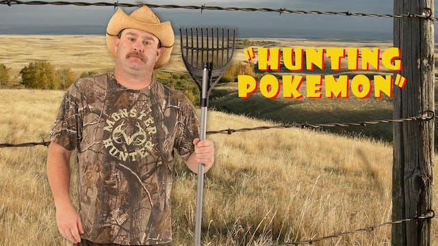 "Pitts on"" Hunting Pokemon"""