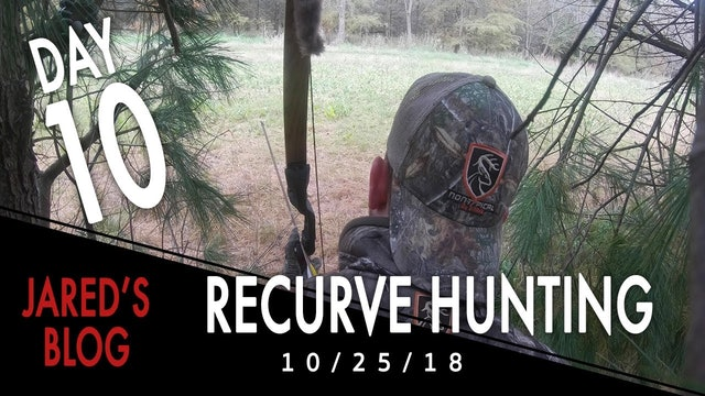 Jared's Blog: Hunting with a Recurve
