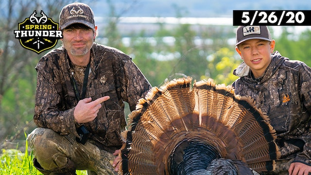 Hunting Big Cornfield Longbeards | Redemption Gobbler | Realtree Spring Thunder