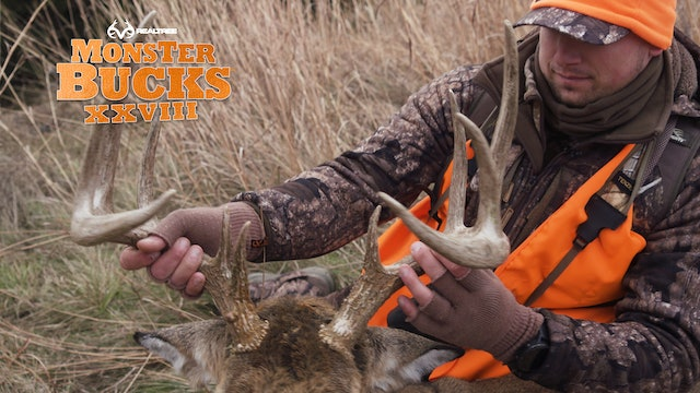 Austin Riley's Magnificent Nebraska Whitetail | Realtree's Monster Bucks