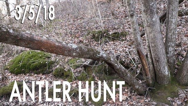 Winke's Blog: Antler Hunt Day 1