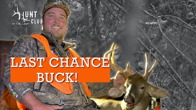BIG BUCK MISS!!  |  HARD HUNTING PAYS...