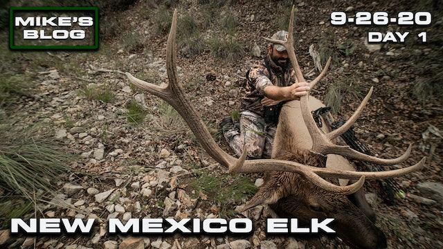 Mike's Blog: New Mexico Elk | Urban Opener