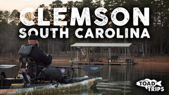 Kayak Fishing in Clemson, South Carolina | Toad Trips