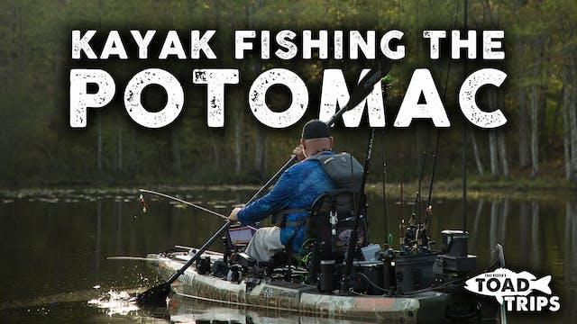 Kayak Fishing on the Potomac River | ...