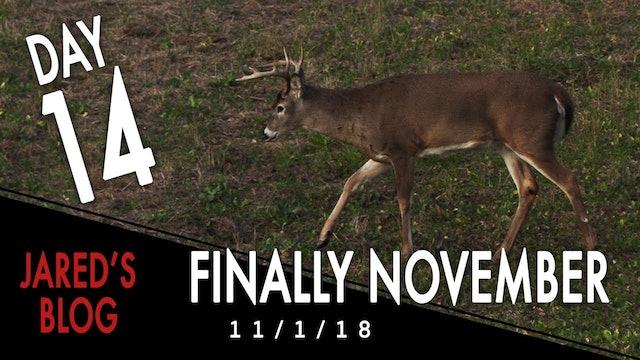Jared's Blog: Finally November