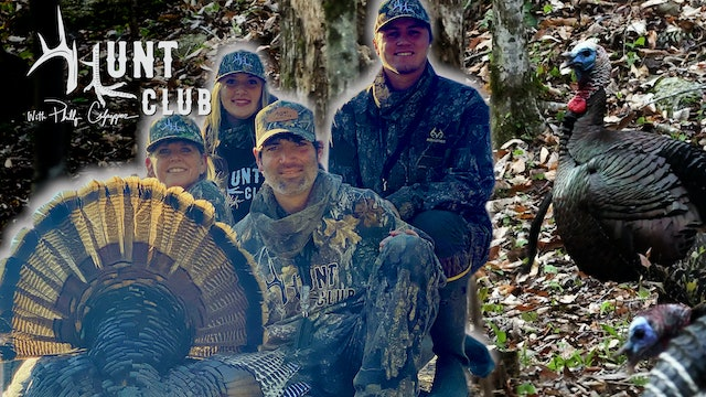 Two Georgia Turkeys Down in One Day | It's a Great Family Tradition | Hunt Club