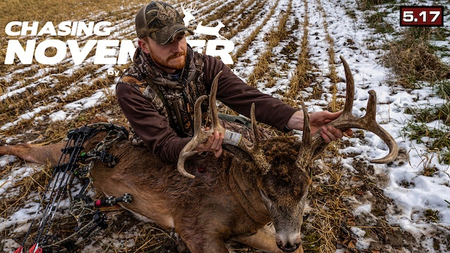 S5.E17. Wide Buck at 10 Yards | Self-Filmed Kansas Brute | Chasing November
