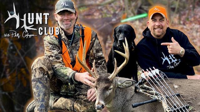Intense Southern Rut Hunt | Mississippi Buck Runs Into Bow Range | Hunt Club