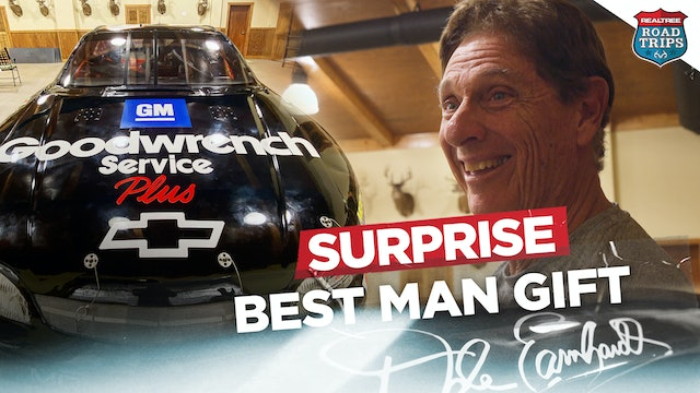 I Gave Dale Earnhardt's Race Car to My Dad as a Surprise | Realtree Road Trips