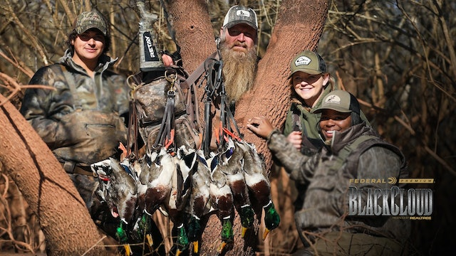 Walk-In Public-Land Duck Hunting | Remote Backwoods Duck Hunting | Black Cloud