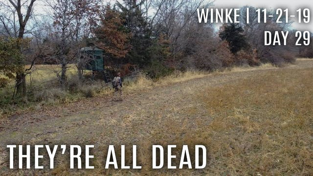 Winke Day 29: They're All Dead