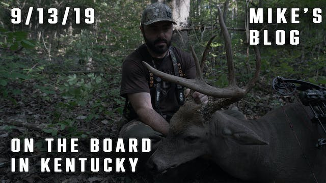 Mike's Blog: On the Board in Kentucky