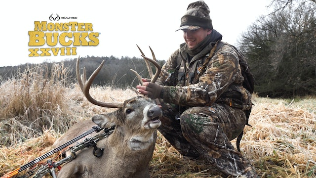 Austin Riley's Nebraska Archery Buck | Realtree's Monster Bucks
