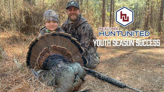 Youth Season Success | Hunting Wild Turkeys in Mississippi | Hunt United