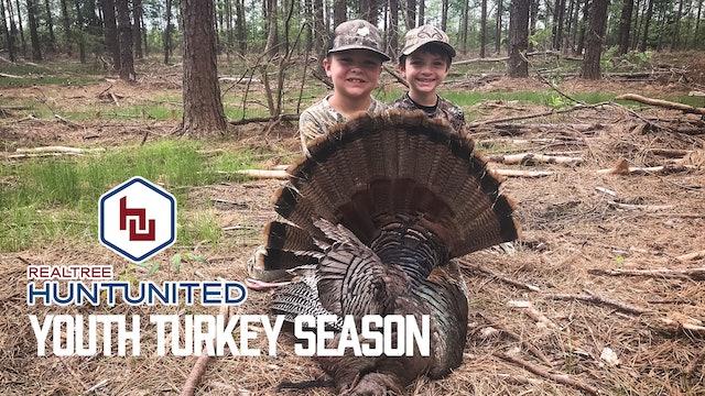 Louisiana Youth Turkey Hunting | Little Kid vs. Big Gobbler | Hunt United