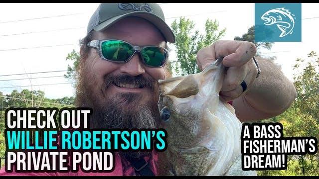 Justin Martin Fishes Willie Robertson...