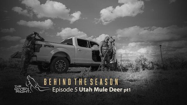 Utah Mule Deer Part 1   Behind the Season