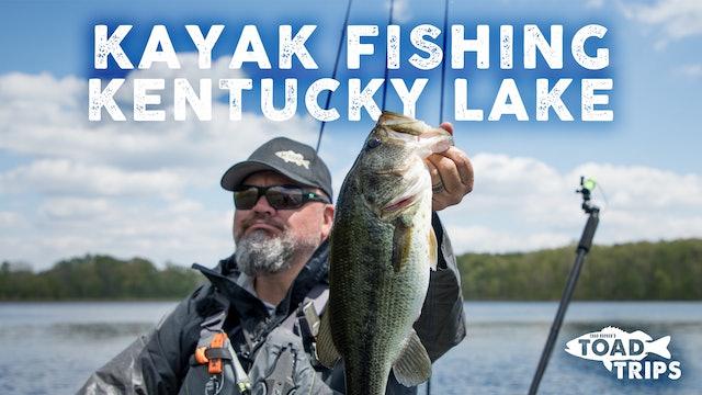 Kayak Fishing on Kentucky Lake | Toad Trips