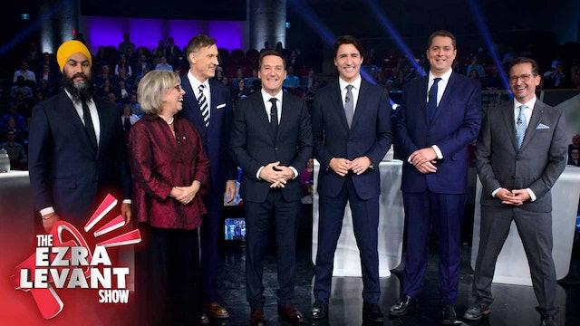 Ezra Levant Show (Oct 11 2019) Who won last night's leaders debate?